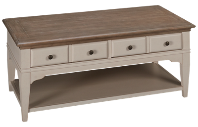 Riverside Myra Cocktail Table with Storage