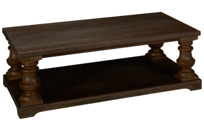 United Haywood Rectangle Cocktail Table