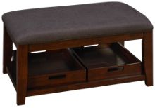 Jofran Twin Cities Ottoman Cocktail Table