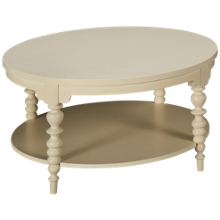 Klaussner Home Furnishings Emerson Round Cocktail Table