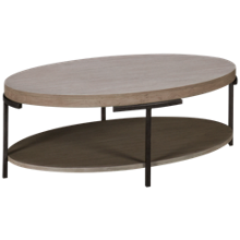 Hekman Sierra Oval Cocktail Table