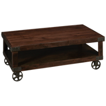 Aspen Industrial Cocktail Table Rectangle