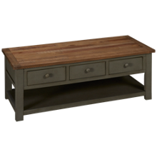 Klaussner Home Furnishings Kelson Rectangle Cocktail Table