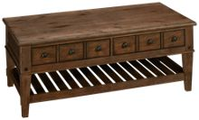 Klaussner Home Furnishings Riverbank Rectangle Cocktail Table