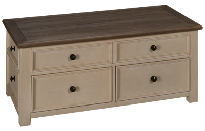 Ashley Bolanburg Lift Top Cocktail Table with Storage