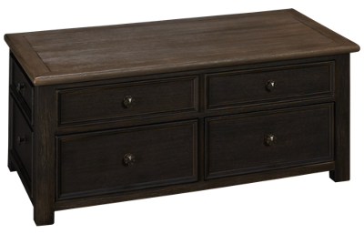 Ashley Tyler Creek Lift Top Cocktail Table with Storage