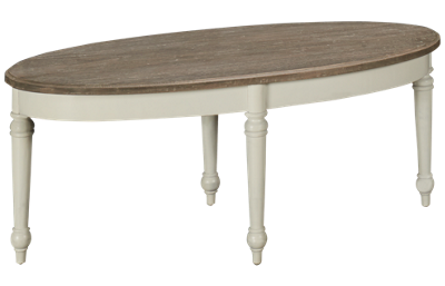 Trade Winds Provence Oval Cocktail Table
