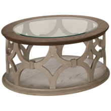 Riverside Elizabeth Round Cocktail Table