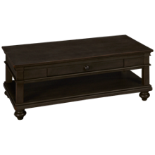 Aspen Oxford Cocktail Table with Casters