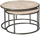 Hammary Modern Basics Nesting Round Cocktail Tables