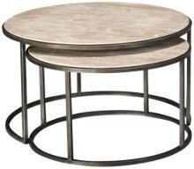 Hammary Modern Basics Nesting Round Cocktail Tables