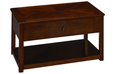 Ashley Marion Lift Top Cocktail Table with Storage