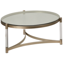 Magnussen Silas Round Cocktail Table