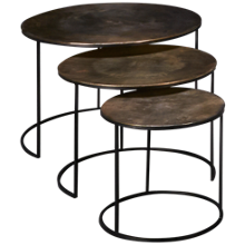 Riverside Portia 3 Nesting Tables