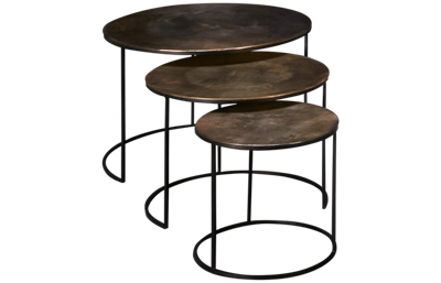 Riverside Portia Nesting Table Set