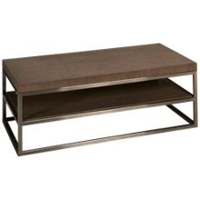 Klaussner Home Furnishings Melbourne Rectangle Cocktail Table