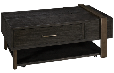 Ashley Forleeza Lift-Top Cocktail Table with Storage