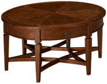 Klaussner Home Furnishings Wentworth Round Cocktail Table