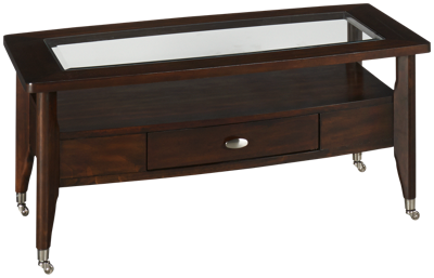 Jofran Montego Merlot Rectangular Cocktail Table
