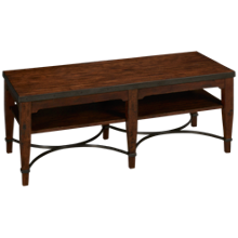 Klaussner Home Furnishings Trisha Yearwood Home Ginkgo Cocktail Table
