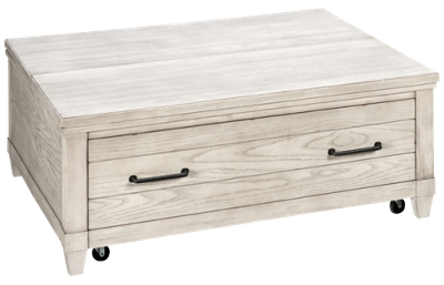 Legacy Classic Belhaven 1 Drawer Lift Top Cocktail Table with Storage