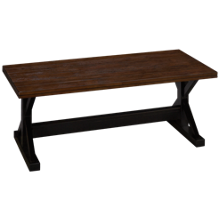 United Lexington Rectangle Cocktail Table