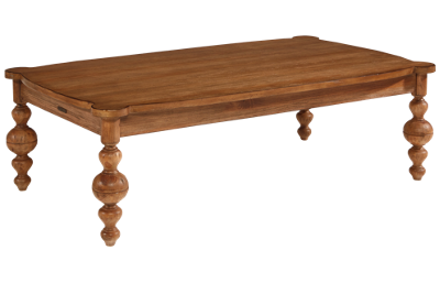 Magnolia Home Coffee Table With Turned Legs