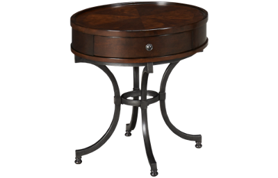 Hammary Barrow End Table with Drawer