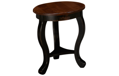 Canadel Quebec Round End Table
