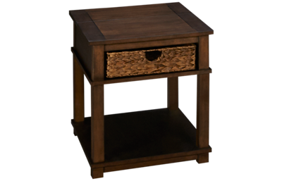 Klaussner Home Furnishings Chambers End Table