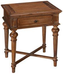Hekman Wellington Hall End Table with Drawer