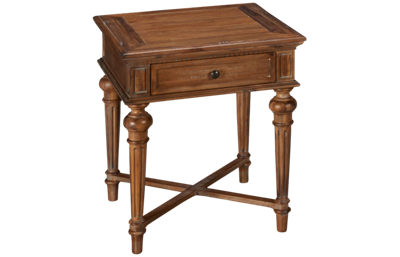 Hekman Wellington Hall End Table with Drawer