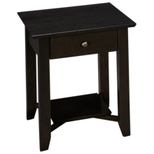 Canadel Davy End Table with 1 Drawer