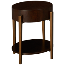 Riverside Dekker Round End Table