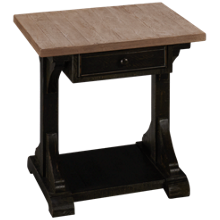 Klaussner Home Furnishings Timberwyck End Table