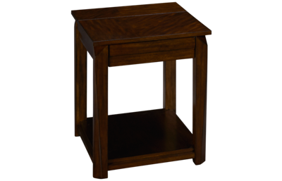 Klaussner Home Furnishings Wedgeland End Table