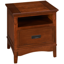 Ashley Cross Island Rectangular End Table