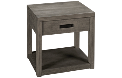 Riverside Riata Gray End Table