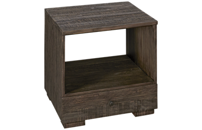 Hammary Reclamation 1 Drawer End Table with Storage