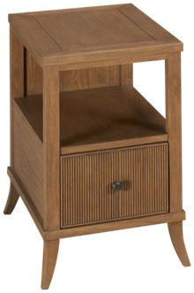 Hekman Urban Retreat Chairside Table with Drawer