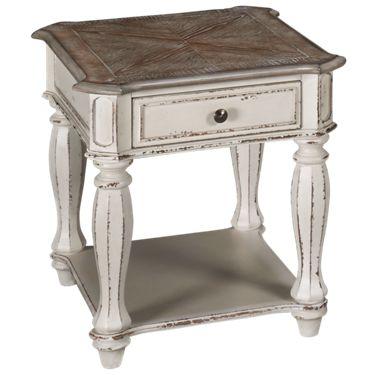 Wondrous Liberty Furniture Magnolia Manor End Table Ibusinesslaw Wood Chair Design Ideas Ibusinesslaworg