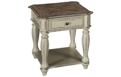Liberty Furniture Magnolia Manor End Table with Storage