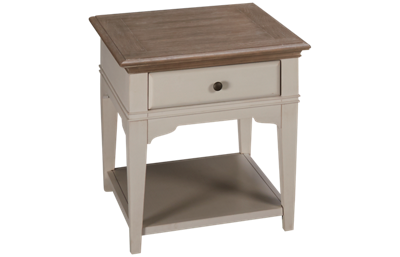 Riverside Myra End Table with Storage