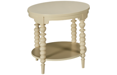 Klaussner Home Furnishings Emerson Round End Table