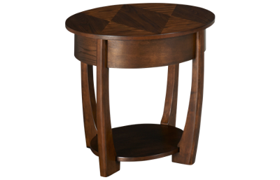 Hammary Concierge Round End Table