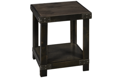 Aspen Industrial Rectangle End Table