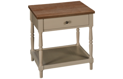 Jofran Grafton Farms 1 Drawer End Table