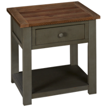 Klaussner Home Furnishings Kelson 1 Drawer End Table