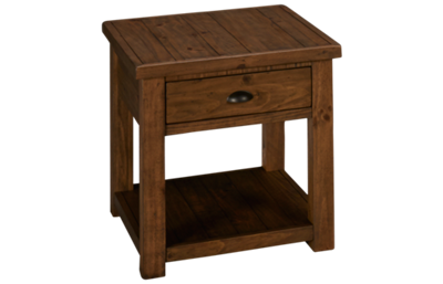 Magnussen Stratton End Table with Storage