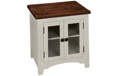 Ashley Valebeck Rectangular End Table